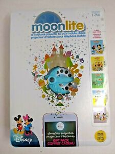 Moonlite Storybook Projector Special Edition Disney Gift Pack Mickey 5 Reels 20R