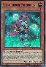 YU-GI-OH CARD: SUBTERROR FIENDESS - SUPER RARE - MACR-EN082