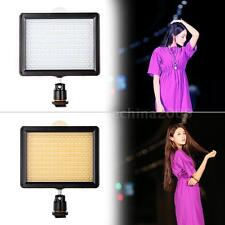 160 LED Video Light Lamp Panel 12W 1280LM Dimmable for Canon Nikon DSLR Camera