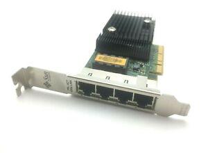 Sun ATLS1QGE 501-7606-07 Quad Port x8 Gigabit LAN UTP PCI Card 501-7606-04 HIGH