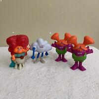 4 x Trolls McDonald's Happy Meal 2020 Toys Bundle Lot