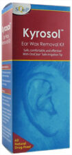 Squip Kyrosol Ear Wax Removal System Safe Comfortable&Effective Drug-Free -1 Kit