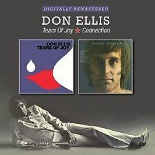 DON ELLIS - TEARS OF JOY/CONNECTION  2 CD NEU