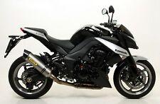 Terminali Thunder Dark dx+sx con fondello Arrow Kawasaki Z 1000 2010>2013