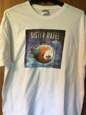 "Sister Hazel.  ""Absolutely"". Shirt.    White.   Adult 2XL (50-52)"