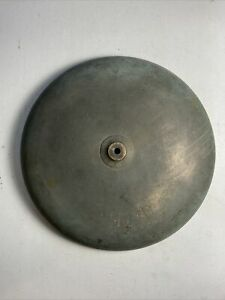 """Antique FIREHOUSE ALARM BELL 14"""" Bronze Dome"""
