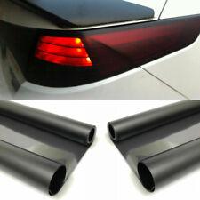 Dark Black Car Headlight Taillight Overlay Tint Film Vinyl Wrap Decal Universal