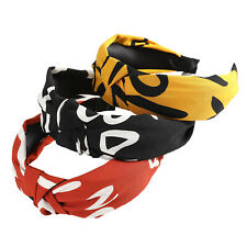 Women's Tie Twist Headband Hairband Knot Fabric Hair Hoop Accessories Head Band