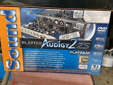 Creative Sound Blaster Audigy 2 zs Platinum New, Never Used.