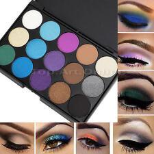 Palette de 15 Couleurs Froid Fard Ombre à Paupieres Maquillage Eyeshadow Neuf