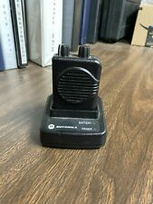 Motorola Minitor V Pager Single Channel 25 35 Mhz Used