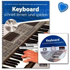 Keyboard schnell lernen und spielen - Schule mit CD - HH1040 - 9783866264366