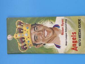 ANAHEIM ANGELS MLB BASEBALL MEDIA GUIDE 1973 EX+