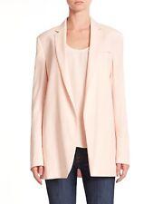 New Equipment Kadley Wool Blazer Light Pink Size 4 $598