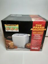 Welbilt Bread Machine Dough Maker Abm6000 - New, Factory Sealed
