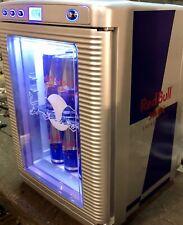 Red Bull Mini Cooler For Cold or Warm Drinks Home Garden 220V-240V & 12V for Car