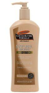 1x Palmer's Cocoa Butter Formula With Vitamin E Natural Bronze Body Lotion 400ml