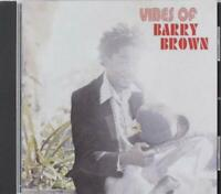 Barry Brown ‎- Vibes Of Barry Brown (2018)  CD  NEW/SEALED  SPEEDYPOST