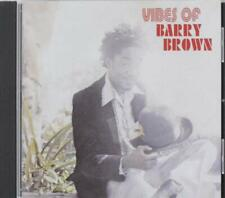 Barry Brown - Vibes Of Barry Brown (2018)  CD  NEW/SEALED  SPEEDYPOST
