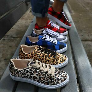Damen Sportschuhe Laufschuhe Schnürer Freizeit Sneaker Turnschuhe Schuhe Trendy