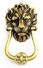 Large Solid Brass Lion''s Head Door Knocker – Number 10 Downing Street Lion