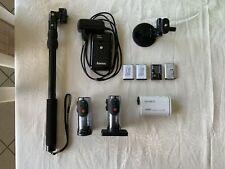 Sony FDR-X1000V Actioncam - viel Zubehör!