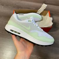 NIKE AIR MAX 1 G WHITE GOLF TRAINERS SHOES SIZE UK6.5 US9 EUR40.5 CI7576-111