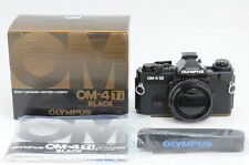 [UNUSED] Olympus OM-4 Ti Black 35mm SLR Film Camera w/ Box from Japan ac29640