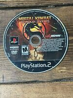 Mortal Kombat: Shaolin Monks (Sony PlayStation 2, 2005)- Disc Only