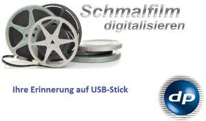 Super 8 - Normal 8 digitalisieren auf Festplatte - Digitalisierung - Filmspule