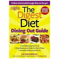 Digest Diet Dining Out Guide: Follow the Breakthrough Diet on the Go! by Liz V.