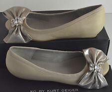 Kurt Geiger  Nude  Jewel open toes Wedges Shoes Size UK 5, EU 38