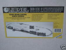 1995 Lionel 6-11821 Sears Brand Central Zenith Express Set Sealed New In Box