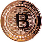 1 OZ COPPER COINS BITCOIN ROUND *ANONYMOUS MAN* ANONYMOUS MINT COIN 5-20-100