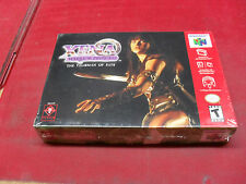 XENA Warrior Princess - THE TALISMAN OF FATE - Nintendo 64 - FACTORY SEALED !