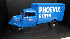 camion TEMPO 3 WHEELER BOX VAN PHOENIX REIFEN Pick up 1/18 MINICHAMPS 180099040