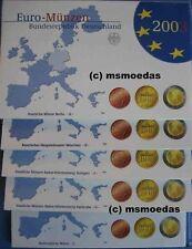 GERMANIA  2003  FONDO SPECCHIO 5 ZECCHE  UNC.