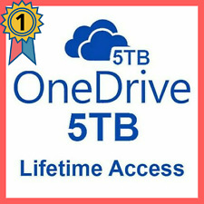 OneDrive 5TB ✔️ LifeTime Account - Best Price