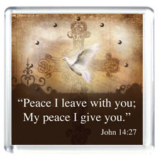 """""""Peace I Leave With You; My Peace I Give You"""" Magnet"""