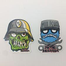 "Metal Mulisha stickers ""Eyegoar & Wrench Head"" Sticker --Free Shipping"