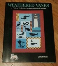 WEATHERED VANES: A Folk Art Collection of Quilts & Hooked Rugs BOOK
