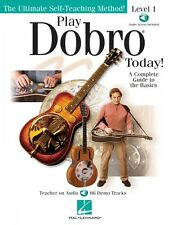 Play Dobro Today Sheet Music Level 1 Instructional Book Audio Online N 000701505