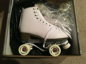 Sure Grip International - LADIES SIZE 7 / White Roller Skates { FAME } / NEW