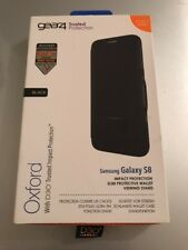 Genuine Gear4 Samsung S8 Oxford Case D30 Protection Black