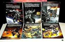 Palladium Robotech RPG Book Lot (6 VERY RARE Books, Expeditionary Force Marines)