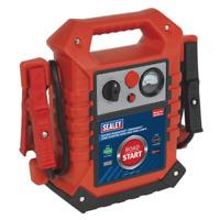 Sealey RoadStart Emergency Jump Starter 12/24V 3000/1500 Peak Amps - RS125
