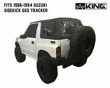 Replacement Soft Top Black Diamond W/ Tinted Window FOR Suzuki SIDEKICK TRACKER