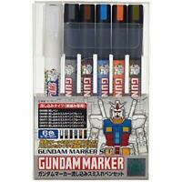 GSI Creos Gundam Marker Pouring Inking Pen Set From Japan