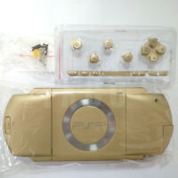 Gold Replacement Shell Full Housing Buttons screwdriver Kits For Sony PSP 1000