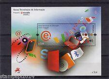 PORTUGAL SOUVENIR SHEET NOVAS TECNOLOGIAS DE INFORMACAO (2008)   MNH(**)